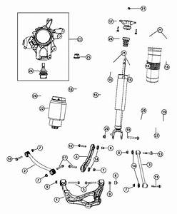 2012 Jeep Grand Cherokee Shock Absorber Kit  Suspension  Rear  Leveling  Load  Tuned