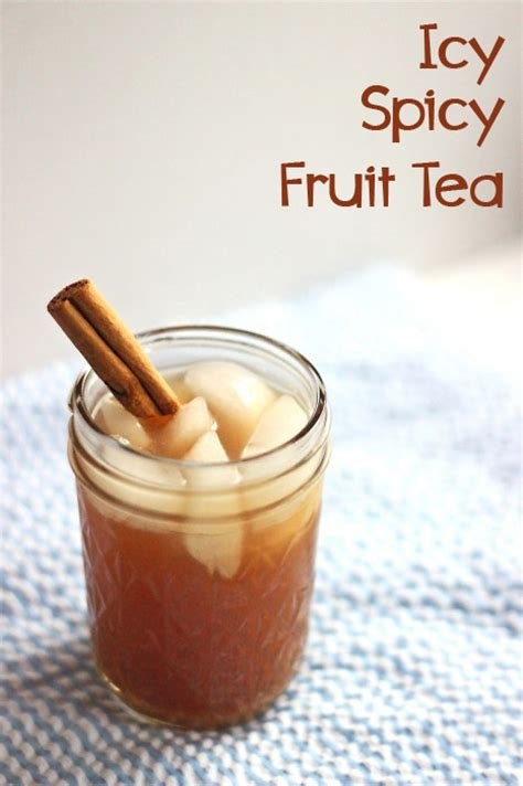 fruit tea recipe fruit tea recipe icy spicy fruit tea