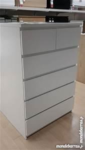 Commode Grise Ikea : commode blanc ikea clasf ~ Melissatoandfro.com Idées de Décoration