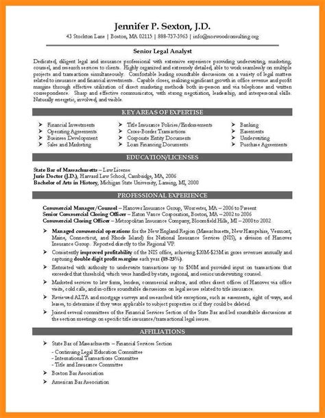 Attorney Resume Sles by 12 13 Resume Experienced Attorney