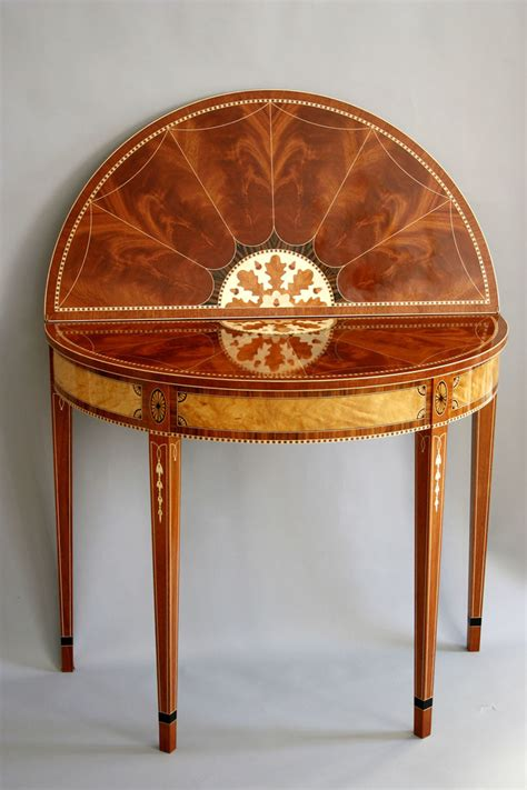 federal card table finewoodworking