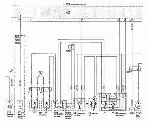 Mercedes-benz 500sec  1993  - Wiring Diagram