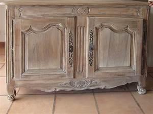 relooker meuble ancien bois table de lit With relooker meuble ancien bois