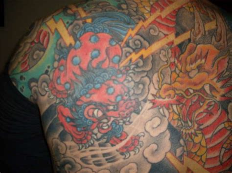foo dog tattoos