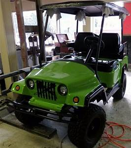 Custom Club Car Golf Cart Body Kit Front And Rear