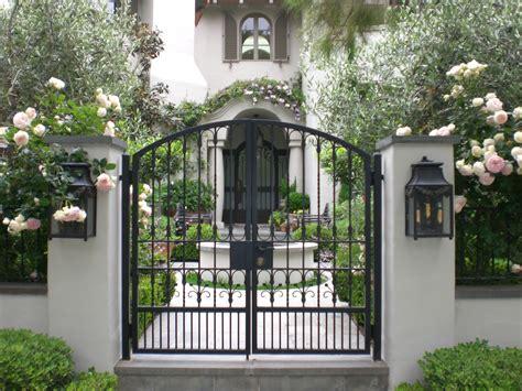 small gates for garden environmental concept earth friendly landscapes santa monica mediterranean luxury gardens in