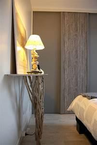 Deco Chambre Parentale : une chambre parentale la d co zen qui tranche avec le reste de l 39 appartement vu dans deco ~ Preciouscoupons.com Idées de Décoration