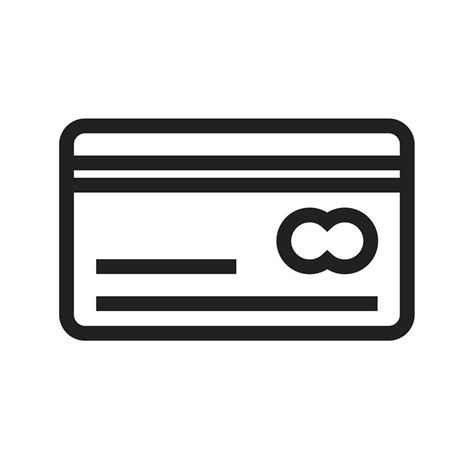 Maybe you would like to learn more about one of these? Credit Card Line Icon - IconBunny
