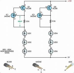 12v Dc Led Bulb Circuit
