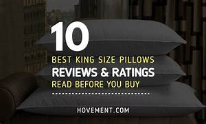 top 10 best king size pillow reviews 2018 buyer39s guide With best king pillows reviews