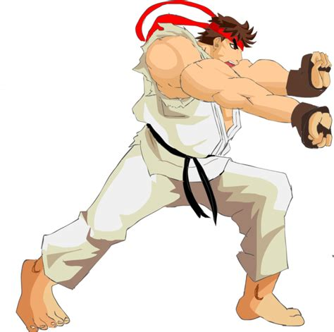 Ryu Hadouken Pose By Hendertaker On Deviantart