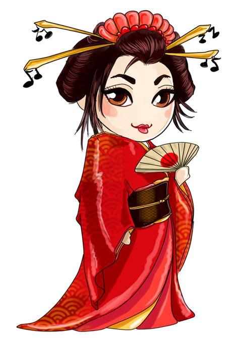 geisha png transparent geishapng images pluspng