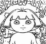 Coloring Diaper Dora Change Wecoloringpage sketch template
