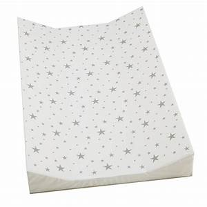 Kiddicare Grey Stars Wedge Changing Mat Kiddicare com