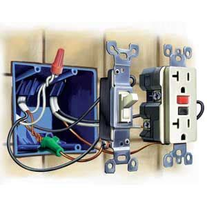 how to upgrade outlets to gfci electrical home