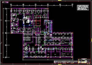 Clinic Hemodialysis 2d Dwg Plan For Autocad  U2022 Designs Cad