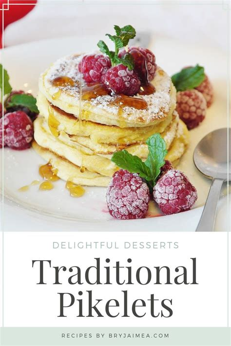 traditional pikelets recipe share  blog posts