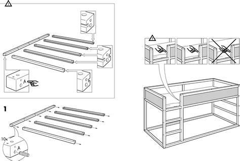 Ikea Bed Gebruiksaanwijzing by Handleiding Ikea Kura Bed Pagina 4 14 Dansk