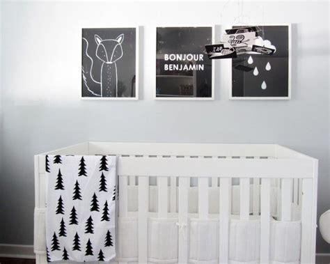 chambre bébé noir et blanc inspirations chambres d 39 enfants noir et blanc picslovin