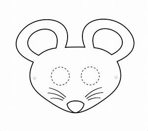 Image gallery mouse mask for Mouse mask template printable