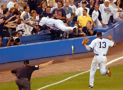 Derek Jeter Stands Catch by Derek Jeter Six Signature Moments That Define The Yankees