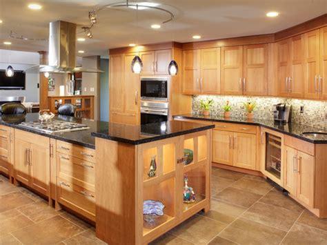 modern kitchen wall tiles design kitchens  light oak cabinets light oak arrow  chairs