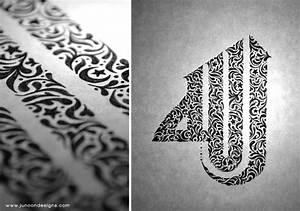 beautiful, Calligraphy, design, drawing, Examples, hand ...