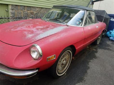 Alfa Romeo Spider Parts by 1974 Alfa Romeo Spider Project Parts Classic Alfa Romeo