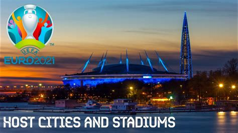 (redirected from uefa euro 2021). UEFA Euro 2021* - Host Cities and Stadiums - YouTube
