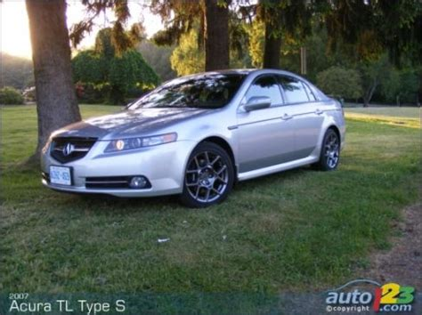 Acura Tl Type S Review by 2007 Acura Tl Type S Road Test Editor S Review Car News