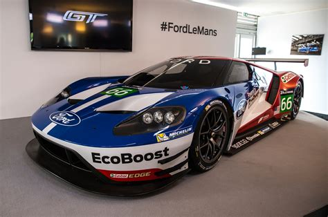 Ford Gt Race Car Secretly Tested Three Weeks Before Reveal
