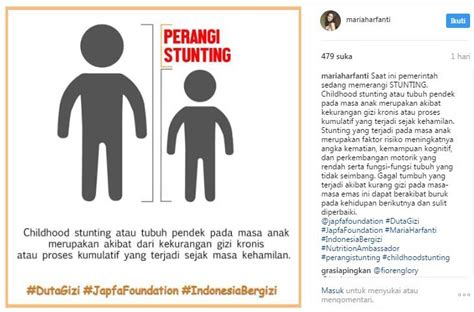 Masalah Pada Masa Kehamilan Kasus Stunting Di Indonesia Disorot Maria Harfanti