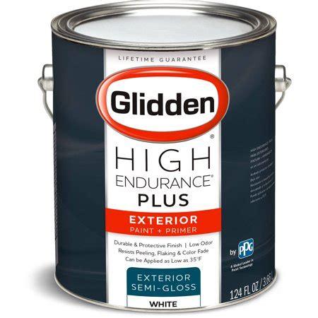 glidden high endurance plus exterior paint and primer