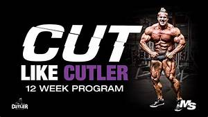Jay Cutler Training Program