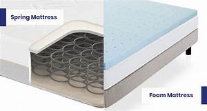 12 vs foam mattress differences which one s the