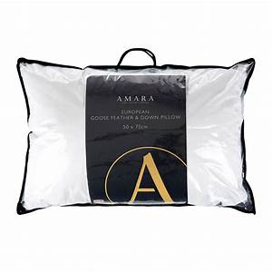 buy a by amara european goose feather down pillow amara With european goose down pillows