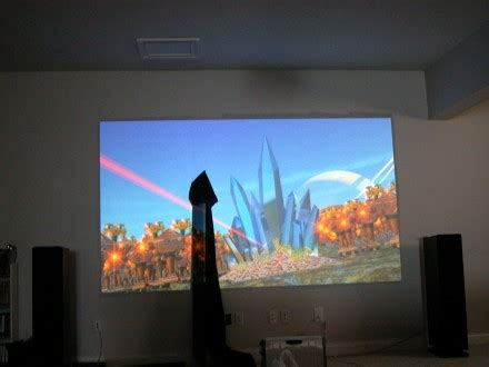 carltonbalecom  home theater projector screen