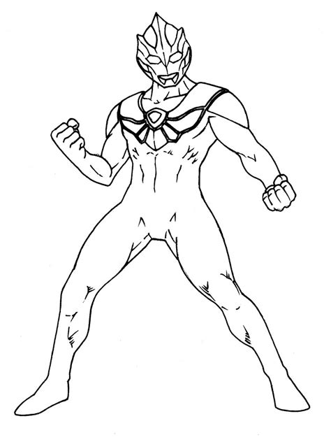 Coloring Ultraman Pictures by Coloring Page Ultraman Coloring Pages Coloring Pages
