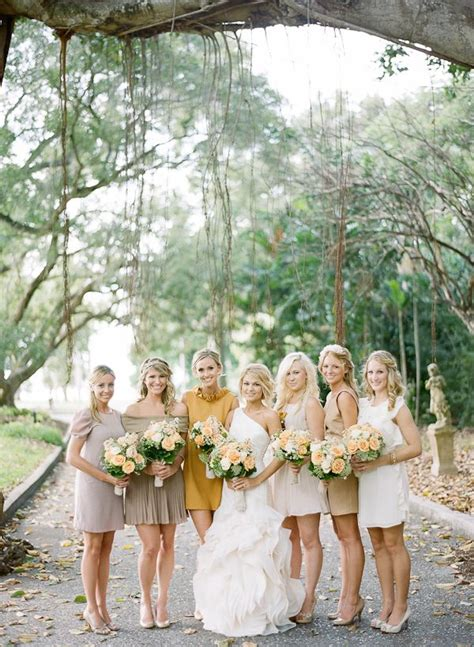 Sarasota Romantic Fall Wedding Hs Wedding Mismatched
