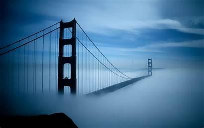 Francisco Gate Bridge Golden San Wallpapers Gold