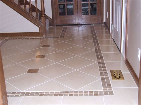 Flur Fliesen Ideen by Kitchen Floor Tile Border Ideas Ceramic Tile Designs For