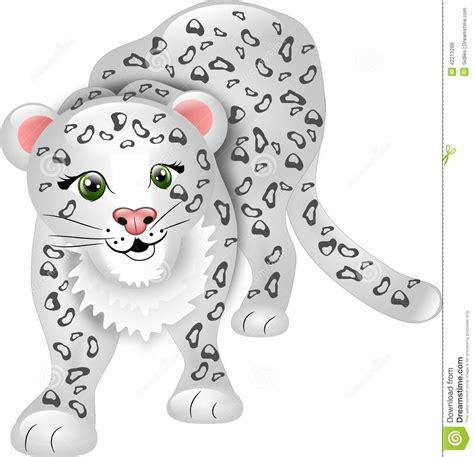 drawn snow leopard clipart pencil   color drawn