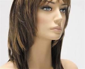 Coupe Carré Effilé Mi Long : coupe cheveux mi long avec frange ~ Melissatoandfro.com Idées de Décoration
