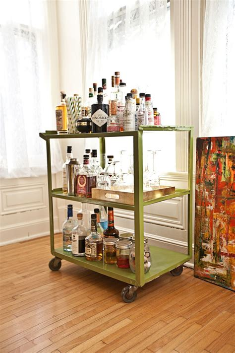 Rolling Bars For Home by Green Bar Cart For The Home Home Home Decor Ikea Bar