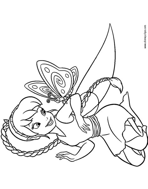 disney fairies tinker bell  fawn printable coloring pages disney coloring book