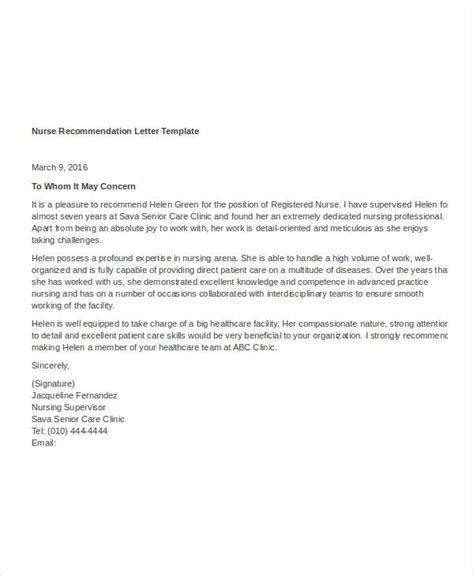 simple recommendation letter template  word