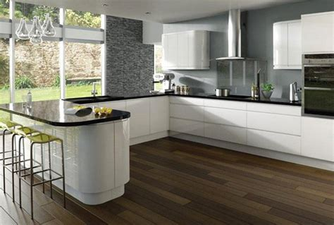 white gloss kitchen ideas 17 white and simple high gloss kitchen designs home