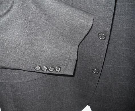 long austin reed charcoal gray black geometic squares