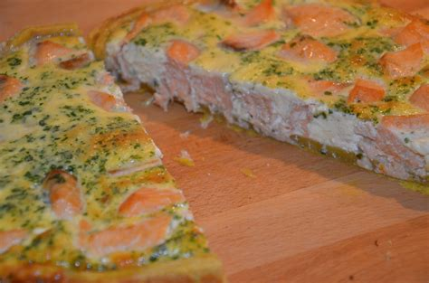 quiche au saumon sevencuisine