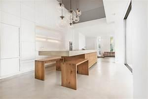 Küche Beton Holz : k che beton eiche w modern k che m nchen von wiedemann werkst tten ~ Markanthonyermac.com Haus und Dekorationen